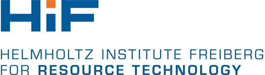 Das Logo des Helmholtz-Instituts in Freiberg