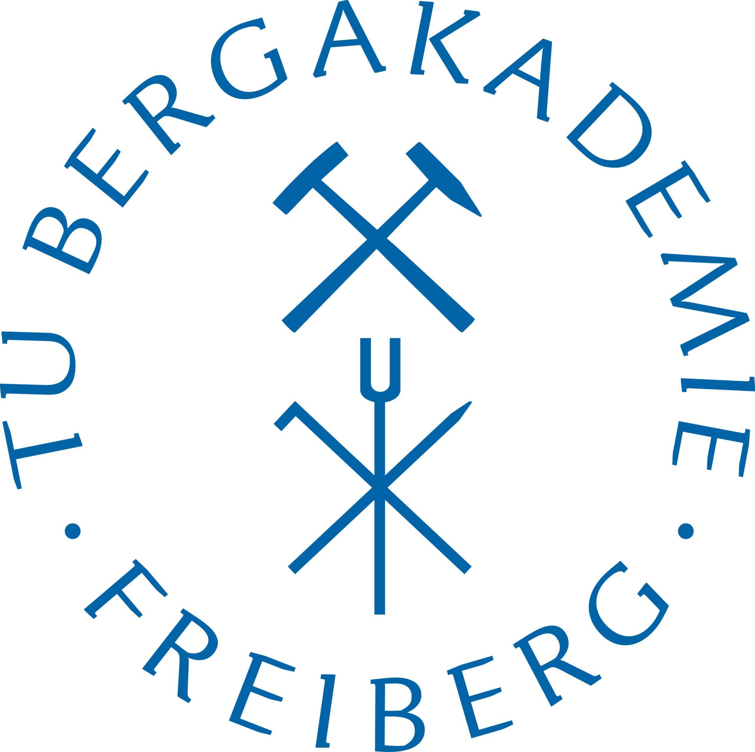 Das Logo der TU Bergakademie Freiberg
